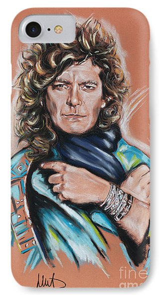 Robert Plant IPhone Case by Melanie D