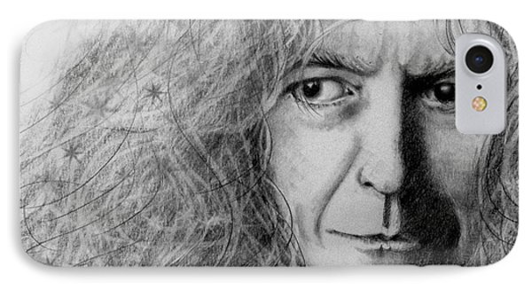 Robert Plant IPhone Case by Patrice Torrillo