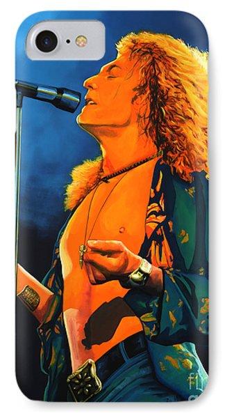 Musicians iPhone 7 Case - Robert Plant by Paul Meijering