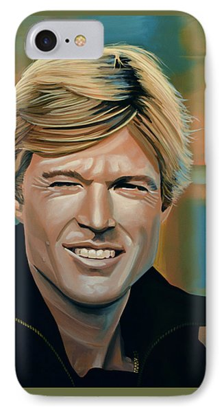 Robert Redford IPhone Case by Paul Meijering