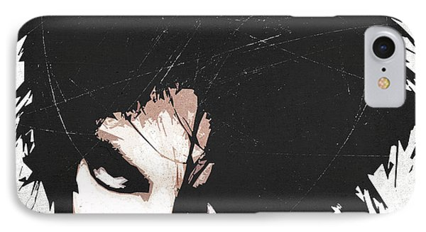 Robert Smith IPhone Case by Filippo B