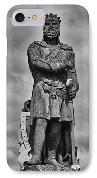 Robert The Bruce IPhone Case by Eunice Gibb