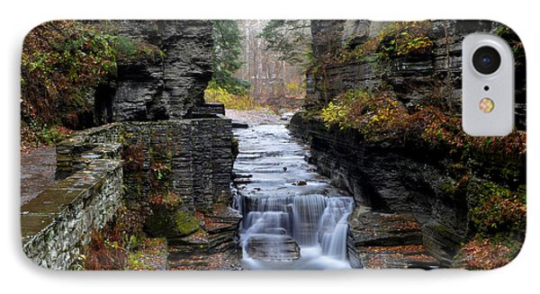 Robert Treman State Park Phone Case by Frozen in Time Fine Art Photography
