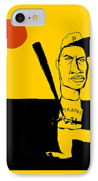 Roberto Clemente Pittsburgh Pirates IPhone Case