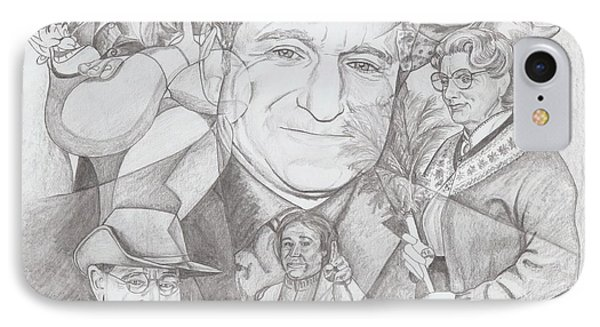 Robin Williams A Lifetime Of Laughter IPhone Case