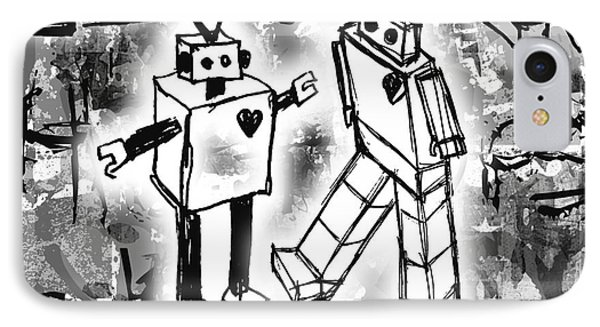 Robot Love IPhone Case