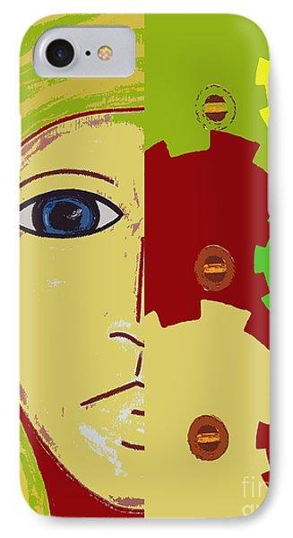 Robot Phone Case by Patrick J Murphy