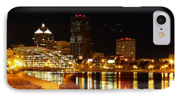 Rochester At Night IPhone Case