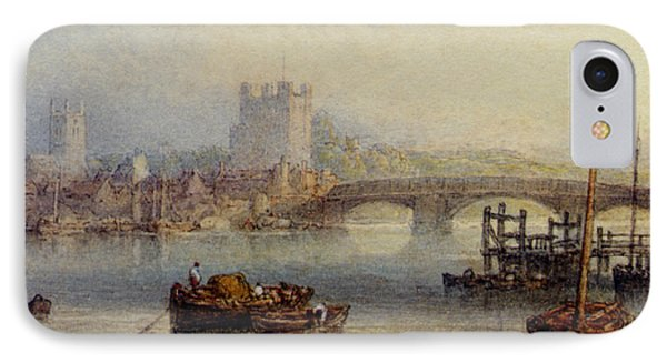 Rochester From The River Phone Case by Myles Birket Foster