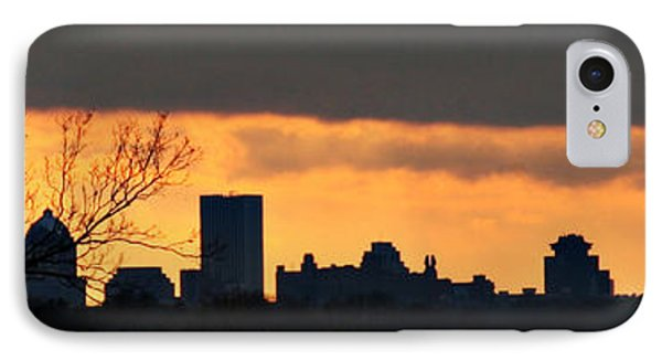 Rochester Skyline IPhone Case by Richard Engelbrecht