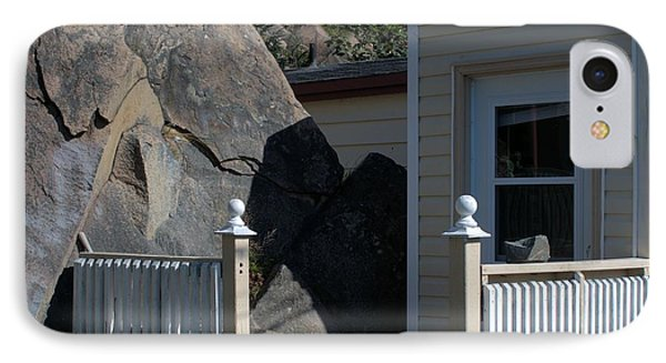 IPhone Case featuring the photograph Rock And Door by Douglas Pike
