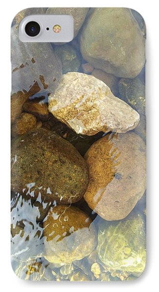 Rock And Pebbles Phone Case by David Stribbling