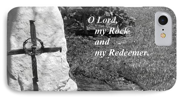 Rock And Redeemer IPhone Case by Ella Kaye Dickey