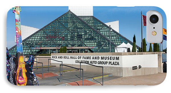 Rock And Roll Hall Of Fame IIi IPhone Case by Clarence Holmes