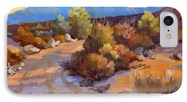 Rock Cairn At La Quinta Cove IPhone Case by Diane McClary