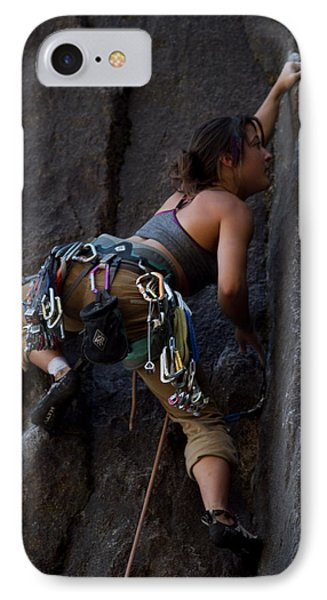 Rock Climbing IPhone Case by Brian Williamson