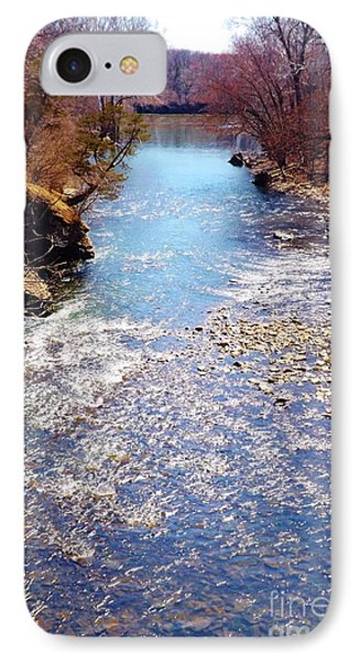 IPhone Case featuring the photograph Rock Creek Illinois by Brigitte Emme