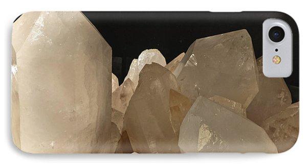 Rock Crystals Phone Case by Heiko Koehrer-Wagner