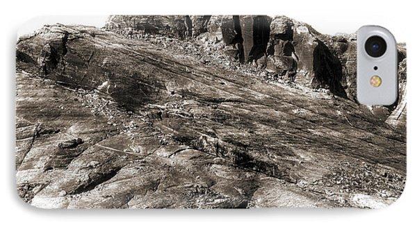 Rock Details Phone Case by John Rizzuto