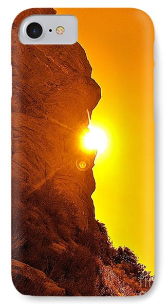 Rock Eclipse  IPhone Case by Gem S Visionary