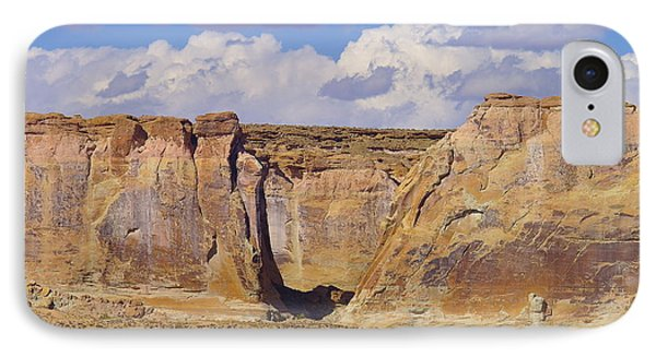 Rock Formations At Capital Reef Phone Case by Jeff Swan