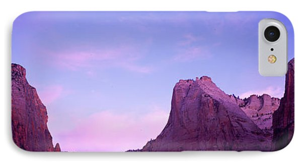 Rock Formations, Court Of Patriarchs IPhone Case by Panoramic Images