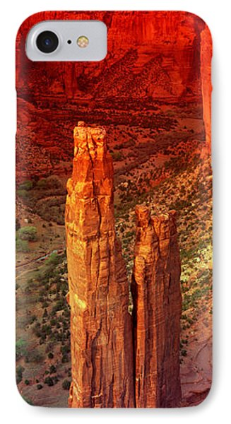 Rock Formations In A Desert, Spider IPhone Case by Panoramic Images