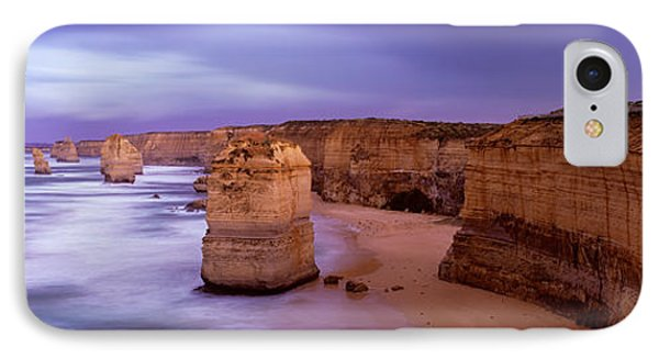 Rock Formations In The Sea, Twelve IPhone Case by Panoramic Images