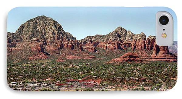 Rock Formations On A Landscape, Sedona IPhone Case by Panoramic Images