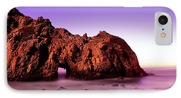 Rock Formations On The Beach, Pfeiffer IPhone Case by Panoramic Images