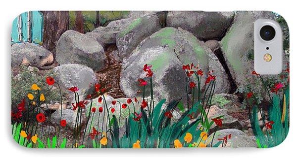 Rock Garden IPhone Case by Craig Nelson