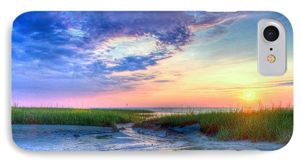 Rock Harbor Sunset IPhone Case