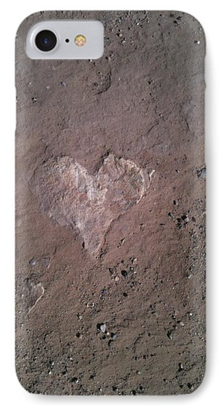 Rock Heart IPhone Case by Claudia Goodell