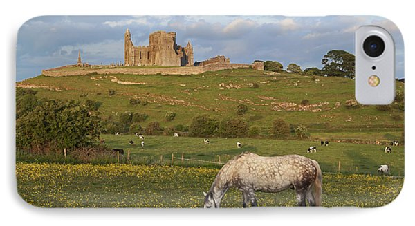Rock Of Cashel_ County Tipperary IPhone Case by Carl Bruemmer