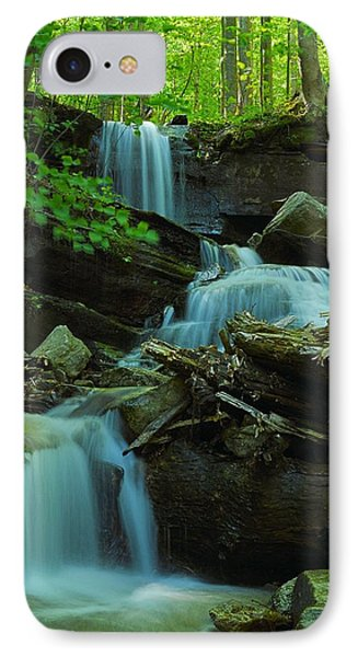 Rock Run Tributary Falls #2 IPhone Case