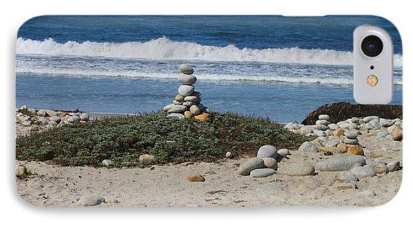 Rock Sculpture 2 IPhone Case by Bev Conover