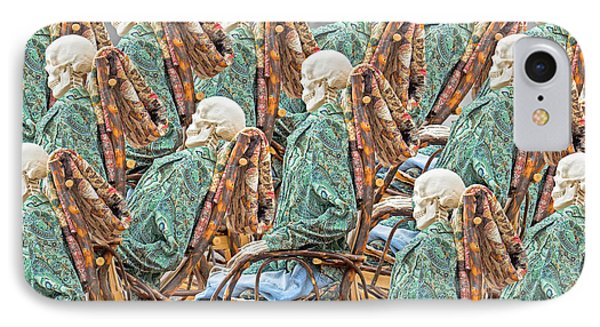 Rock The Bones IPhone Case by Betsy Knapp