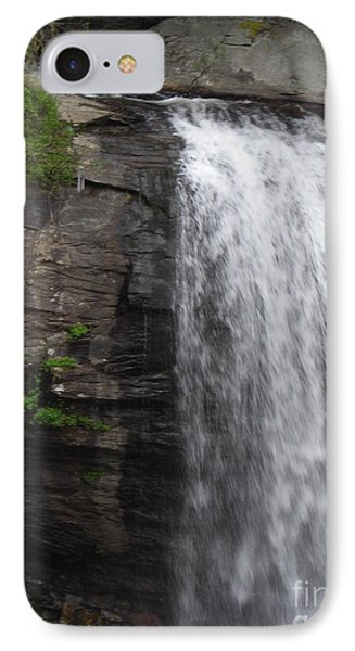 Rock Waterfall By Angelia Clay IPhone Case by Angelia Hodges Clay