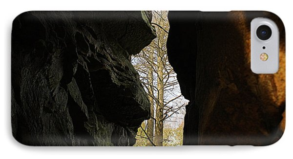 Rock Window IPhone Case by Melissa Petrey