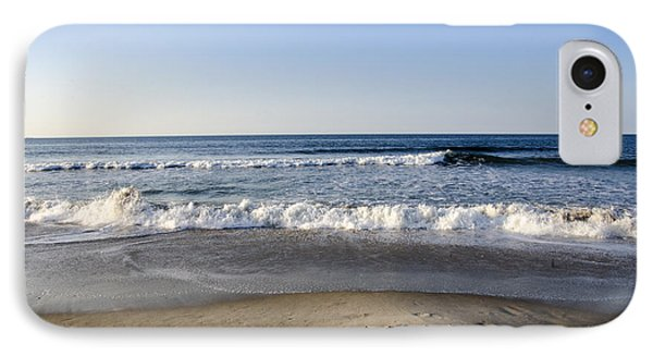 Rockaway Beach Morning Shoreline IPhone Case by Maureen E Ritter