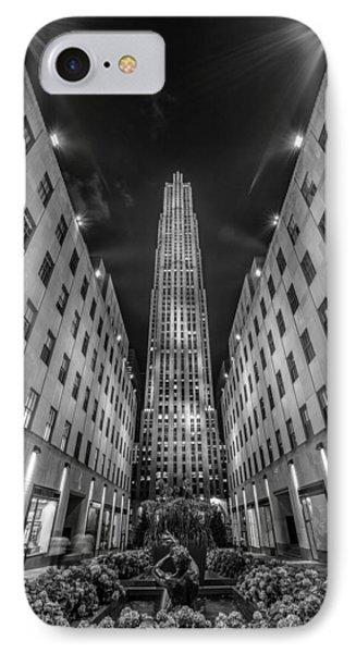 Rockefeller Center - New York 1 IPhone Case by Larry Marshall