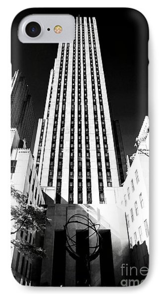 Rockefeller Center Phone Case by John Rizzuto
