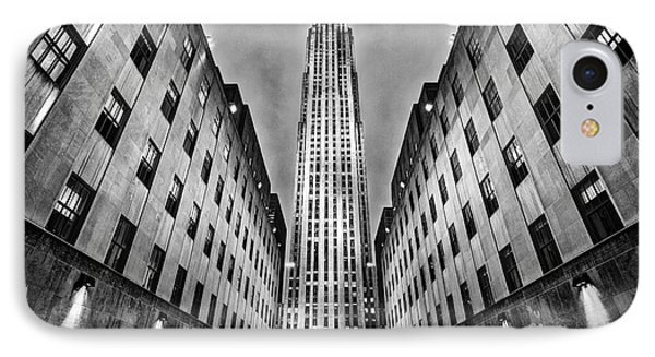 Rockefeller Centre Phone Case by John Farnan