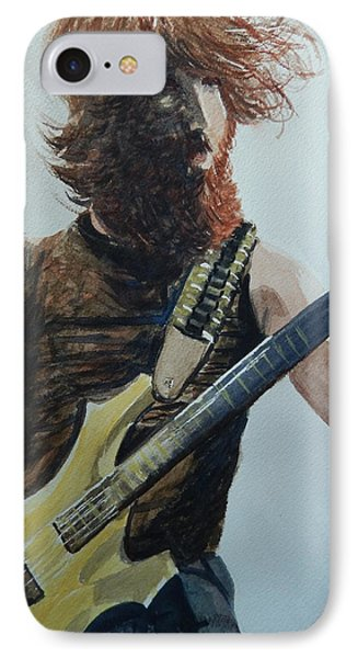 IPhone Case featuring the painting Rockin It Out by Betty-Anne McDonald