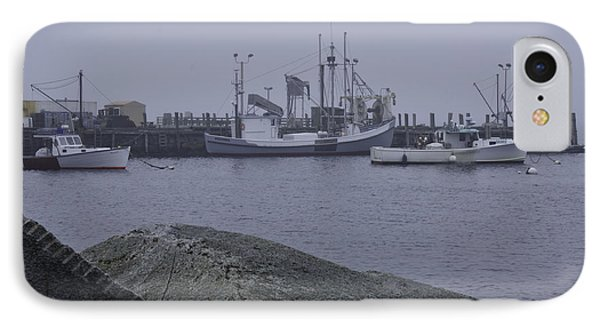 IPhone Case featuring the photograph Rockland Me by Daniel Hebard
