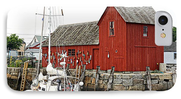 Rockport - Motif Number 1 IPhone Case by Stephen Stookey