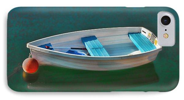 Rockport Row Boat Phone Case by Joann Vitali