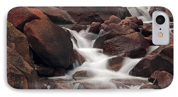 Rocks And Water IPhone Case by Eric Rundle