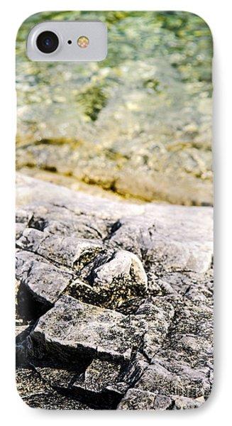 Rocks At Georgian Bay Phone Case by Elena Elisseeva