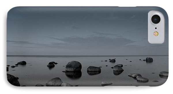 Rocks At Midnight IPhone Case by Alex Weinstein